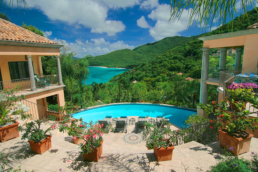 Villa Coco De Mer Overlooking One Of The Most Beautiful And Dramatic Ocean Views In World Is Caribbean S Magnificent Private Villas